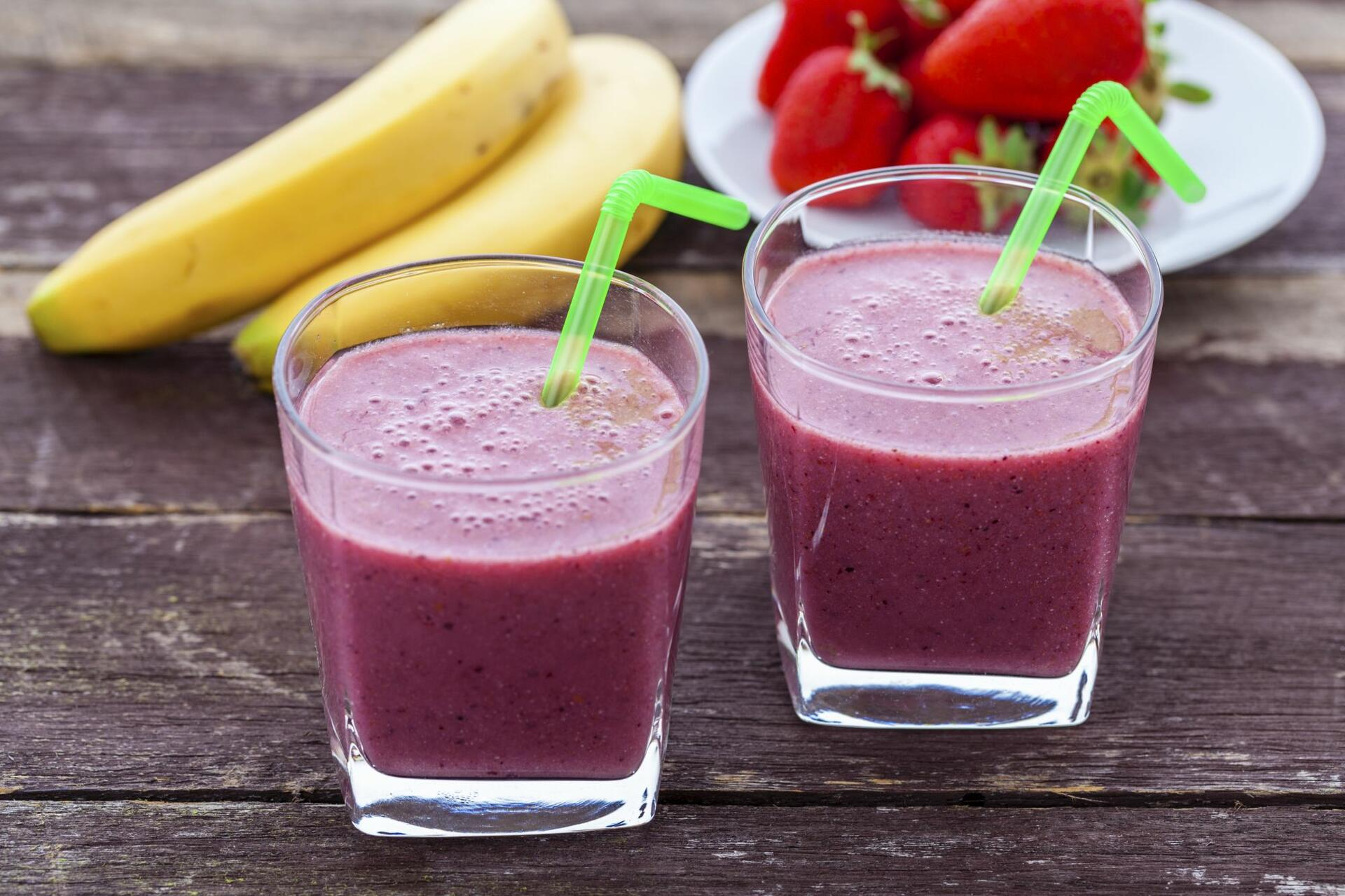 Smoothie for Valentine´s day
