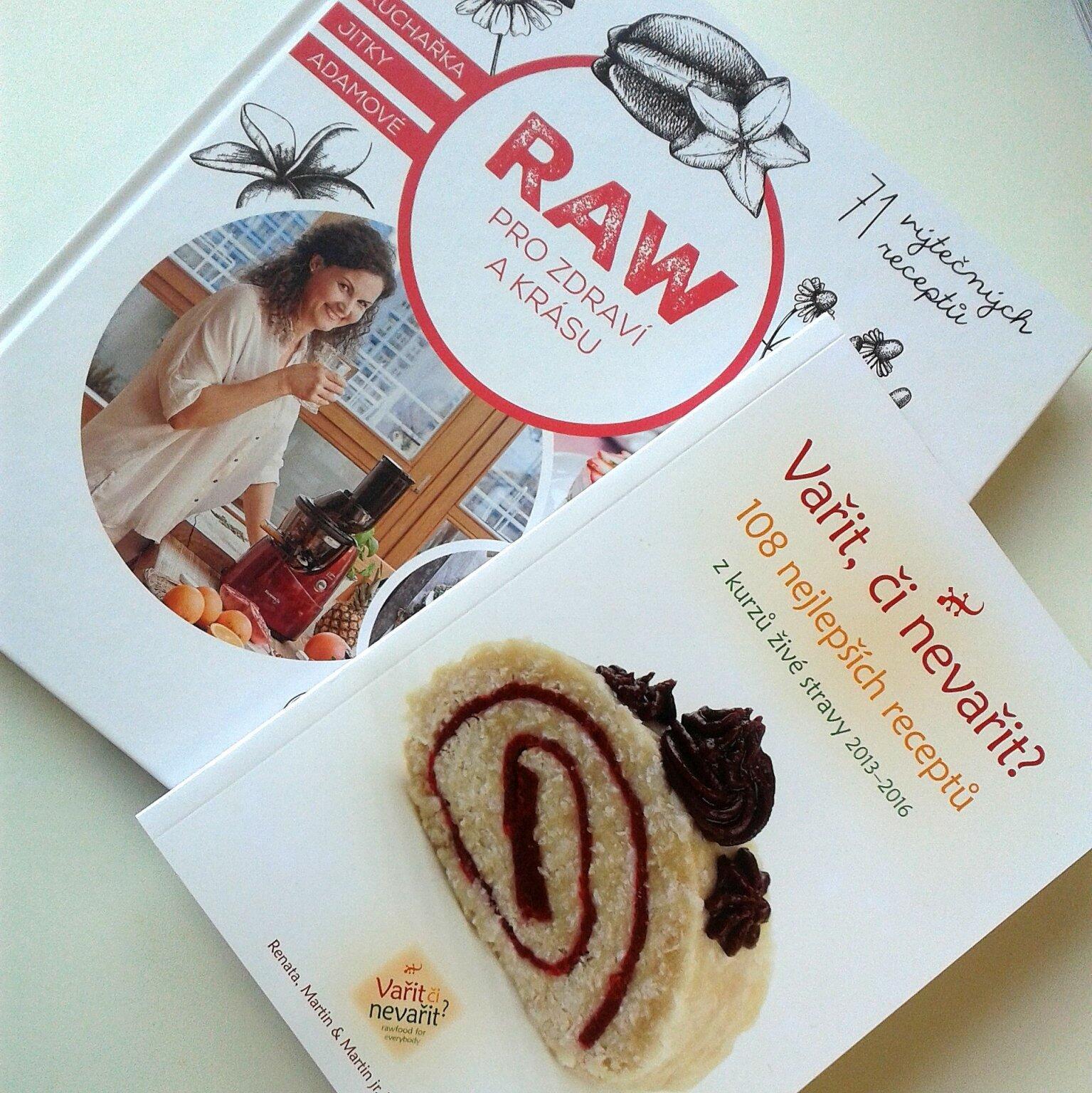 Knihy o raw food