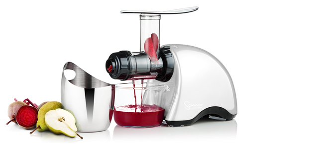Sana Juicer by Omega EUJ707 white
