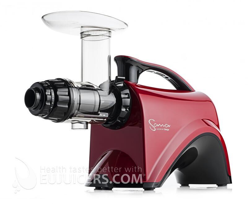 šnekový odšťavňovač Sana Juicer by Omega EUJ-606 červená