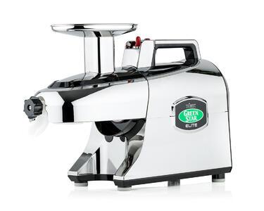 dvouhřídelový odšťavňovač Green Star Elite 5050 chrom