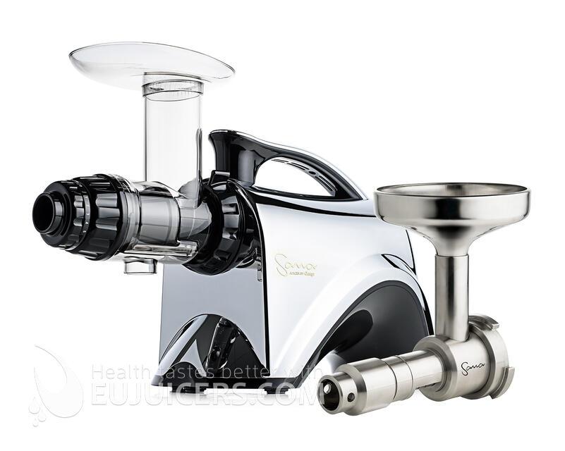 šnekový odšťavňovač Sana Juicer EUJ-606 Plus chrom
