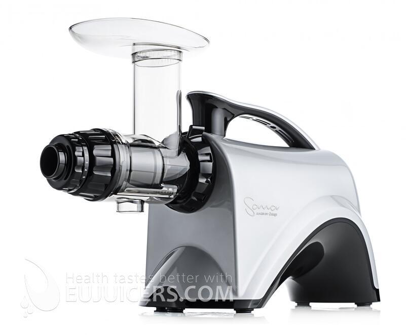 šnekový odšťavňovač Sana Juicer by Omega EUJ-606 stříbrná
