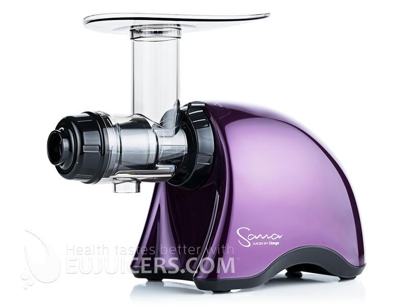 odšťavňovač Sana Juicer | by Omega EUJ-707 fialová švestková