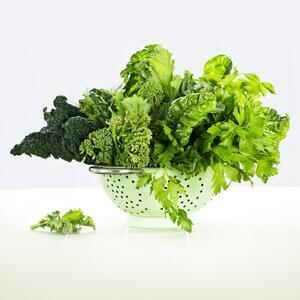 odšťavňování listové zeleniny