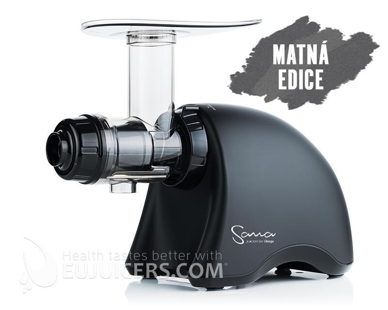 odšťavňovač Sana Juicer | by Omega EUJ-707 černá mat
