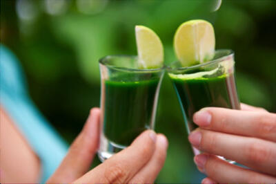Green Juice for detox