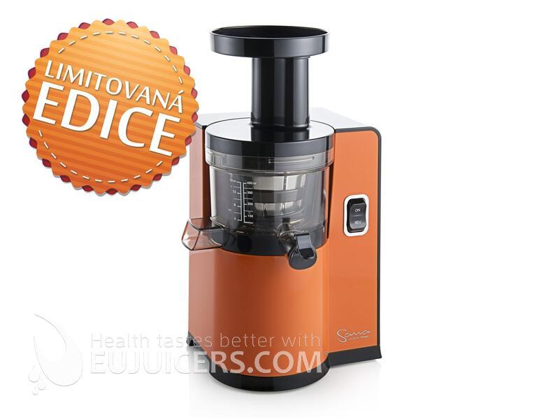 šnekový odšťavňovač Sana Juicer by Omega EUJ-808 oranžová