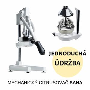 mechanický citrusovač Sana