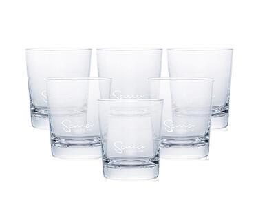 Sklenice z křišťálového skla | Sana 727 (6x 500 ml)