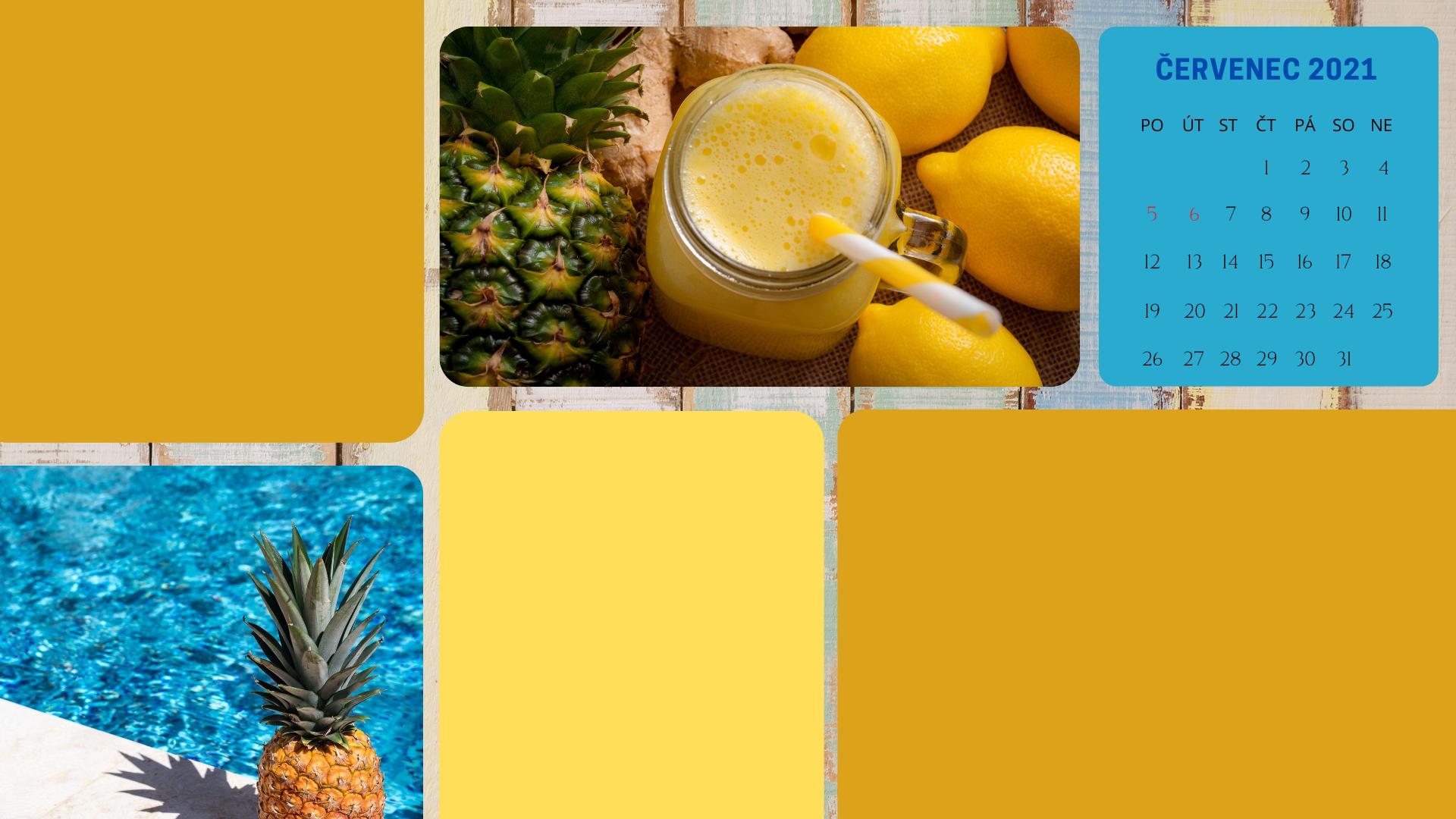 tapeta na plochu ananas